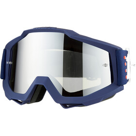 100% Accuri Anti Fog Mirror Goggles, art deco